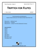 Triptych for Flutes