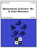 Brandenburg Concerto No. 3, First Movement