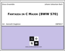 Fantasia in C Major (BWW 570)