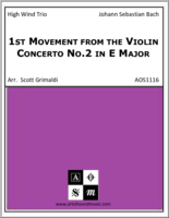 1st Movement from the Violin Concerto No.2 in E Major