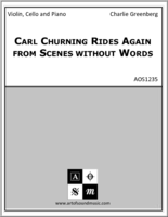 Carl Churning Rides Again from Scenes without Words