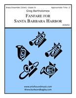 Fanfare for Santa Barbara Harbor (Octet)