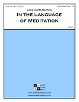 In the Language of Meditation