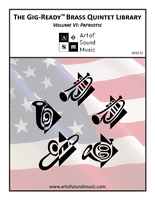 Gig-Ready Brass Quintet - Vol VI: Patriotic