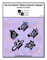Gig-Ready Brass Quintet - Vol VII: Easter