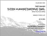 Sussex Mummers Christmas Carol