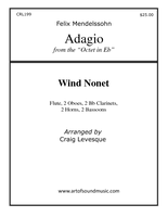 Adagio from the Octet in E flat