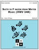 Suite in F major from Water Music (HWV 348)