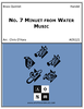 2nd Minuet from Water Music Suite in F