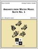 Andante from Water Music Suite No. 1