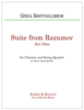First Suite from Razumov (Quintet)