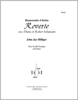 Reverie on a Theme of Robert Schumann
