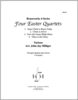 Four Easter Quartets