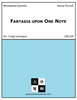 Fantasia upon One Note