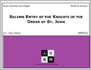 Solemn Entry of the Knights of the Order of St. John