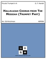 Hallelujah Chorus from The Messiah (Trumpet Part)