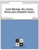 Love Divine, All Loves Excelling (Trumpet part)