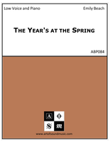 The Year's at the Spring (Low Voice)