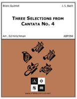 Three Selections from Cantata No. 4