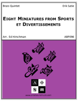 Eight Miniatures from Sports et Divertissements