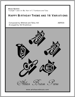 Happy Birthday Theme and 16 Variations