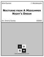 Nocturne from A Midsummer Night's Dream