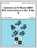 Concerto in D Major BWV 972 after Vivaldi's Op. 3 Nr. 9