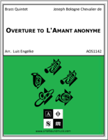Overture to L'Amant anonyme