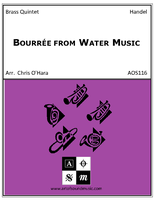 Bourree from Water Music Suite in F