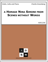 a Homage Nina Simone from Scenes without Words