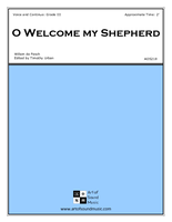 O Welcome my Shepherd