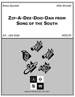 Zip-A-Dee-Doo-Dah from Disney's Song of the South [AOS235] - $18 00