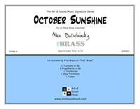 October Sunshine - FIRST BRASS