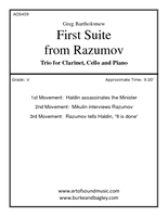 First Suite from Razumov (Trio)