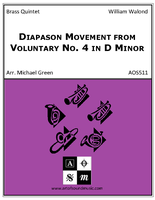 Diapason Movement from Voluntary No. 4 in D Minor