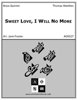 Sweet Love, I Will No More