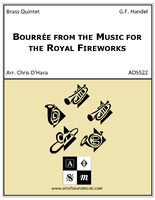Bourree from the Music for the Royal Fireworks