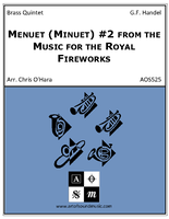 Menuet (Minuet) #2 from the Music for the Royal Fireworks