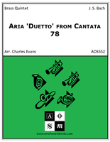 Aria 'Duetto' from Cantata 78