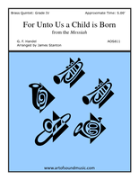 For Unto us a Child is Born from
