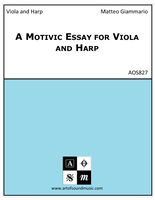 A Motivic Essay for Viola and Harp