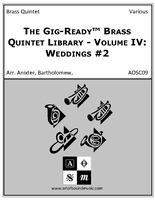 Gig-Ready Brass Quintet - Vol IV: Weddings #2
