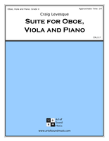 Suite for Oboe, Viola and Piano