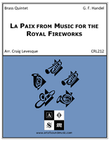 La Paix from Music for the Royal Fireworks
