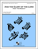 And the Glory of the Lord from The Messiah (Accompaniment to Organ & Choir)