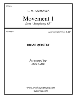 Movement 1 from Beethoven's Fifth Symphony